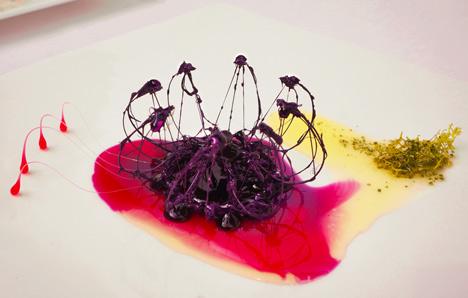 Skutečně dietní pokrm: Živé jídlo od Minsu Kim je designový skvost